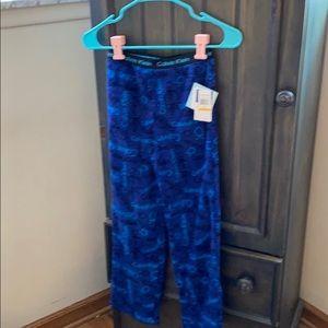 Boys Calvin Klein pajama bottoms size 7/8 NWT
